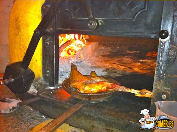 restaurante de carnes al horno