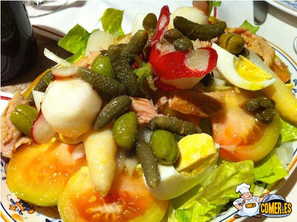 ensaladas en valencia