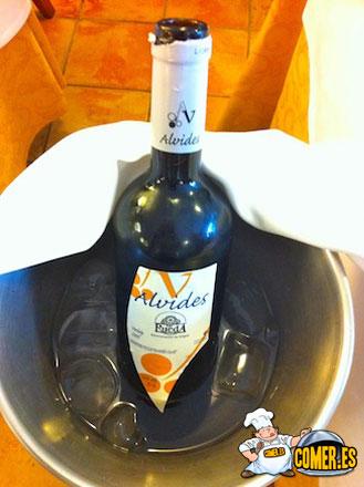 vinos valencia blanco alvides denominacion rueda