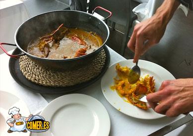 restaurante arribar valencia