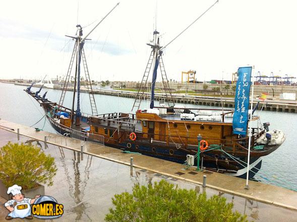 barcos en valencia