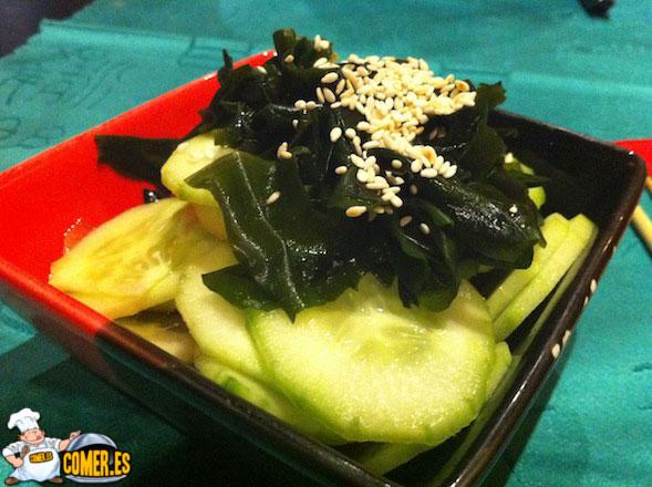 verduras japonesas en valencia